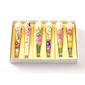 Warosoku Japanese Candles-6 assorted hand-drawn(Size 6)